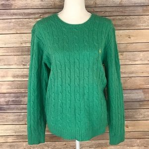 Ralph Lauren Wool Cable Knit Sweater